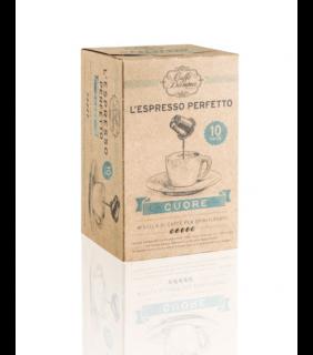 Cuore - L'espresso perfetto - DECAFFEINATO - 10 cap.