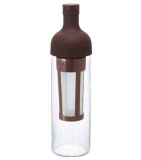Filter in Coffee Bottle Brown \ Bottiglia cold brew casalinga marrone