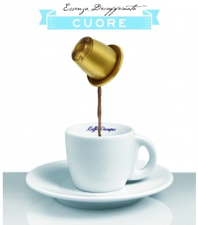 Cuore - L'espresso compatibile - DECAFFEINATO - 10 cap.