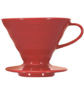 Coffee Dripper V60 02 Ceramic Red \ V60 ceramica rosso 2 tazze