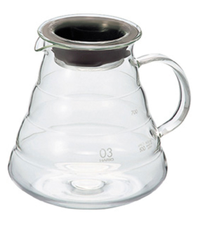 V60 Range Server 800ml Clear