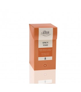 SPICY TIME - Rooibos arancia e cannella - 12 filtri
