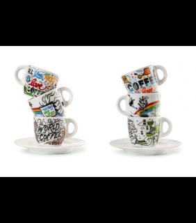 Tazze Funny Cups espresso - World of Coffee