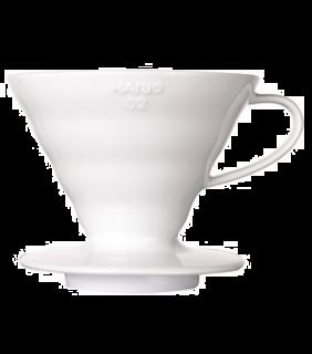 Coffee Dripper V60 01 Ceramic \ V60 ceramica bianco 1 tazza